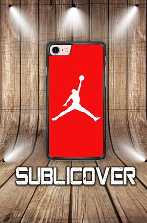 Cover Case Per Iphone Huawei Samsung Jordan Sfondo Rosso Controlla