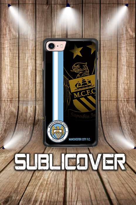 COVER CASE PER IPHONE HUAWEI SAMSUNG STEMMA MANCHESTER CITY