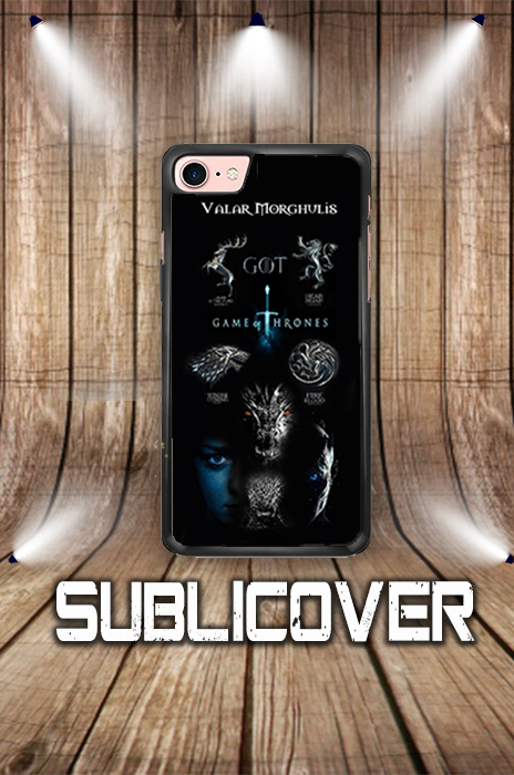 COVER CASE PER IPHONE HUAWEI SAMSUNG GAME OF THRONES PERSONALIZZATA